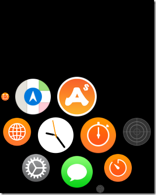 Simulator Screen Shot - Apple Watch Series 3 - 42mm - 2018-07-05 at 09.23.58